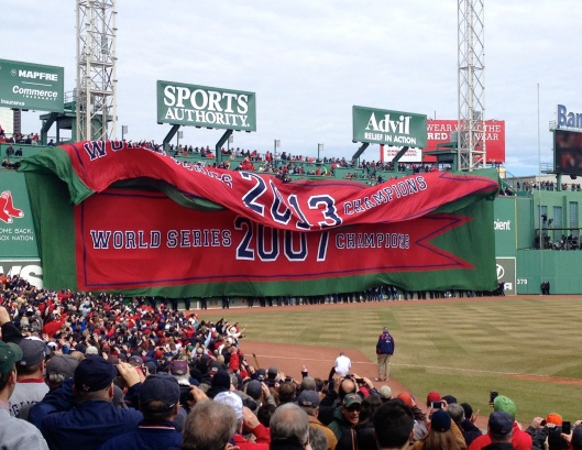 Opening Day @ Fenway Park, 4/4/14